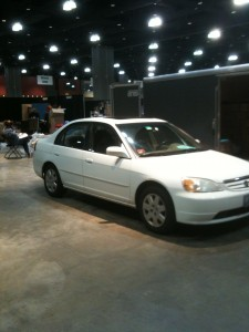 My Civic at STITCHES East 2009