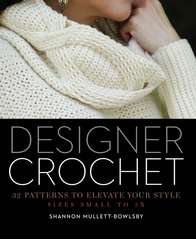 Designer Crochet Cover