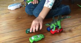 Dinosaurs and Cars